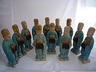 Ming Dynasty Pottery Zodiac Figures with TL-test