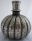 Indian Bidri Ware Huqqa Base 18th Century
