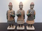 Ming Dynasty Pottery Figures with TL-test