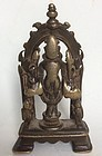 Bronze Vishnu and Consorts India 15th century