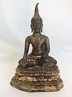 Thai Ayutthaya Bronze Buddha