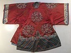 Late Qing Wedding Robe