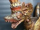 Wooden Naga Bali 19th Century