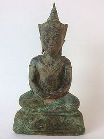 Thai Bronze Ayutthaya Buddha 17th/18th Century
