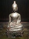 Northern Thai Bronze Buddha 16th Century