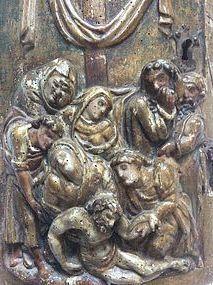 Spanish 17th Century Tabernacle Door