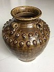Chinese Glazed Stoneware Martavan 17th Century