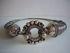 Ethnic Silver Torque