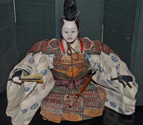 Late Edo Period Musha Ningyo of Minamoto no Yoshitsune
