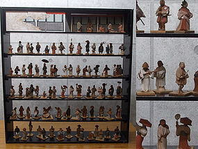 Masterpiece Rendition of the Hundred Figures