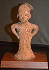 Rare 4th Century Kofun Period Female Haniwa Figure