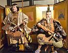 Rare, Large Pair of Edo Ningyo, Empress Jingu