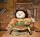 Fine 19th Century Ningyo of Japan's First Emperor Jimmu