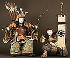 Very Scarce Pair of 18th Century Museum Quality Ningyo