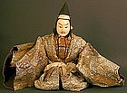 Japanese Edo Period Boys Day Doll of a Court Figure