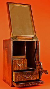 Extraordinary 19th Century Japanese Mirror Box