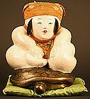 Delightful Japanese Palace Doll of Urashimataro