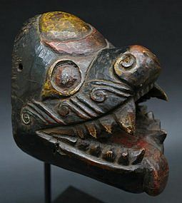 Old Nepalese Boar Mask