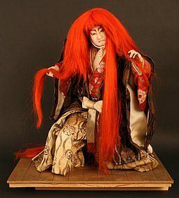 Isho Ningyo of Actor Danjuro IX as the Lion Dancer