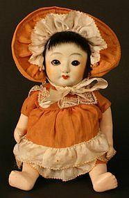 Sakura Porcelain Head Doll of an American Baby Girl