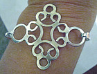 Vintage Mod Bracelet Great Design Sterling Silver