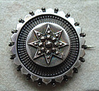 Fine All Hallmarks British Brooch Decorative Silver