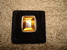 Large Taxco Mexico Sterling Tiger Eye Ring All Marks