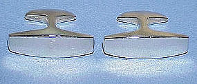 Ronald Pearson Sterling Modernist Cuff Links
