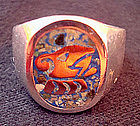 Sterling Mixed Metals Men's Ring Mexico