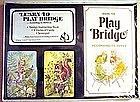 Bridge Playing Cards 5 Piece Set MINT c. 1950's HOYLE