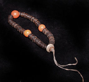 Tibetan Bodhi Wooden Mala Prayer Beads