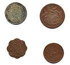 Four RareTibetan Coins