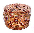 Burmese Yun Lacquered Betel Box - 19th Century