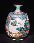 Antique Japanese Kutani Vase