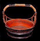 Burmese Lacquered Basket #2 - 19th Century