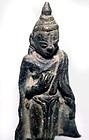 Burmese Bronze Buddha - 16th Century