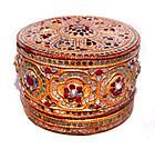 Burmese Gilded Molded Betel Box - 19th Century