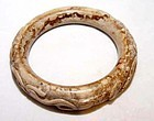 Chinese Han Dragon Jade Bangle