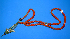 Tibetan Mala Prayer Beads From Lhasa