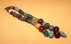 Chinese Assorted Glass Bead Necklace  - 1000AD - 100BC
