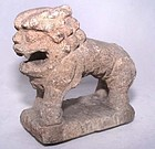 Chinese Han Carved Stone Lion - 206BC - 220AD