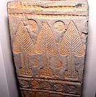 Rare Chinese Han Tomb Door Pillar - 206BC - 25AD