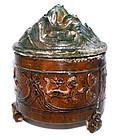 Chinese Han Hill Jar w/Hunting Scenes - 206BC - 220AD