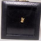 Rare Pyu Micro Gold Lion 100 - 500 AD