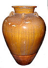 Chinese Rare Two Dragon Martaban Jar - 18th Century