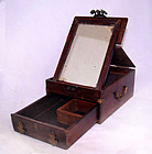 Chinese Blackwood Vanity Case - Qing  19th Century