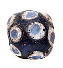 Very Rare Chinese Glass Eye Bead - Warring States - 475BC-221BC