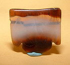 Ancient Natural Banded Agate Bead Pendant -100 BC #9