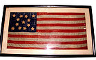 Thirteen Star American Flag Private Yacht Design