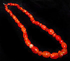 Ancient Carnelian Bead Necklace - 1000-500 BC